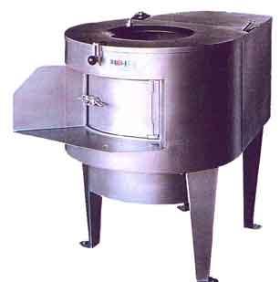 Beef middle defatting machine
