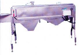 Stomachs splitting machine