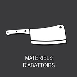 3 secteurs d'activités : matériel d'abattoirs